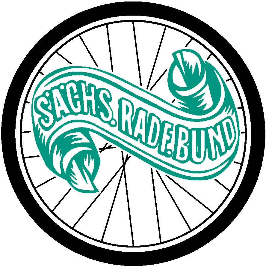 Logo des SRB, bestehend aus Reifen mit SRB Banner
